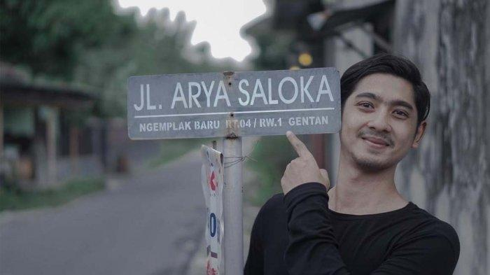 Viral, Seperti Pahlawan Nama Aktor Ikatan Cinta Arya Saloka Diabadikan Menjadi Nama Sebuah Jalan!