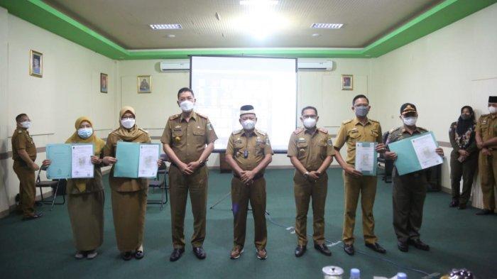 Apresiasi Dedikasi dan Pengabdian, 371 Pegawai Negeri Sipil Lampung Timur Naik Pangkat