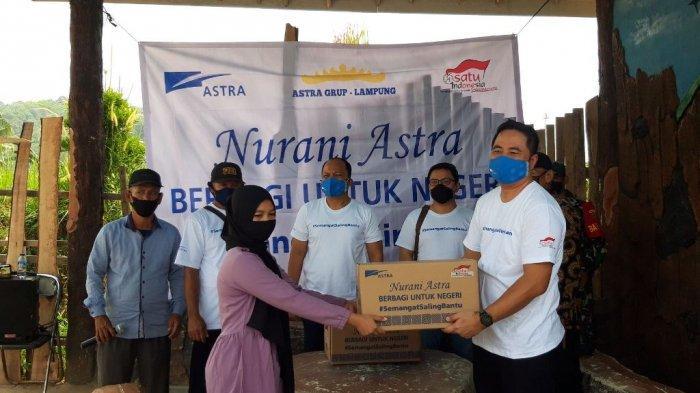 Astra International Lampung Beri Bantuan Sembako untuk Warga, Nurani Astra Berbagi untuk Negeri