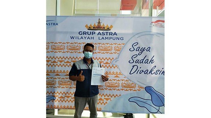 Astra Group Lampung Sukses Adakan Vaksinasi Covid-19 Dosis Pertama