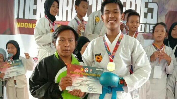 Atlet Karate Asal Way Kanan Raih Emas di Kerjurnas Karate Senkaido Championship Menpora Cup 2019