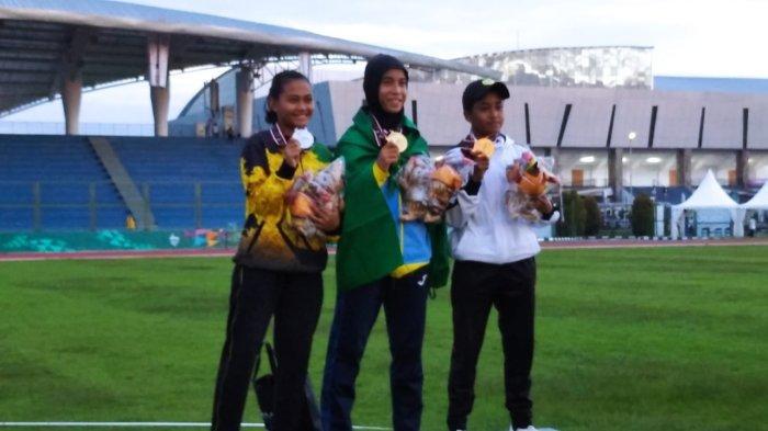Atlet Lampung Nabella Ariantika Raih Perak Sapta Lomba di PON XX Papua