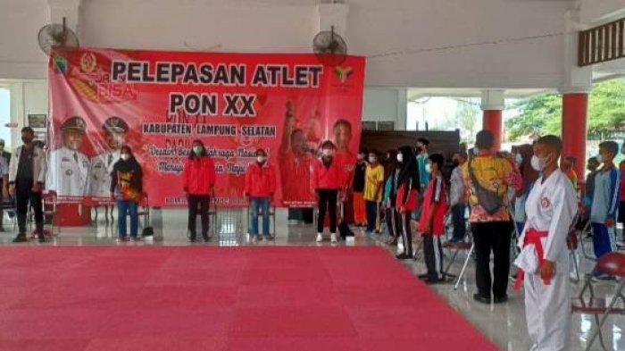 Wabup Pandu Kesuma Target Atlet Lampung Selatan Dapat Emas di PON XX Papua