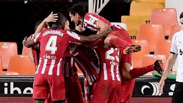 Hasil Liga Spanyol, Atletico Menang atas Valencia, Madrid Dipecundangi Deportivo