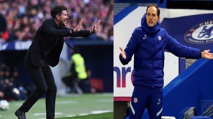 Ilustrasi : Atletico Madrid vs Chelsea musim 2020/2020