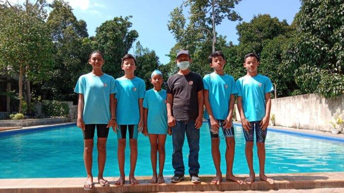 Lima Atlit Renang dari Tanggamus Akan Mengikuti Jakarta Open Swimming Championship 2021