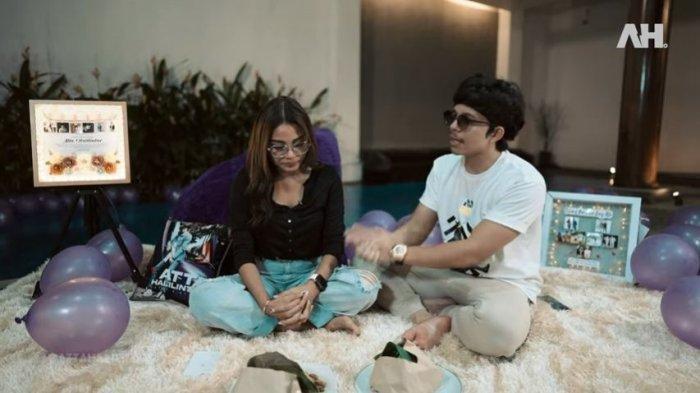 Atta dan Aurel Memperlihatkan Momen Malam Pertama Mereka Sebagai Suami Istri