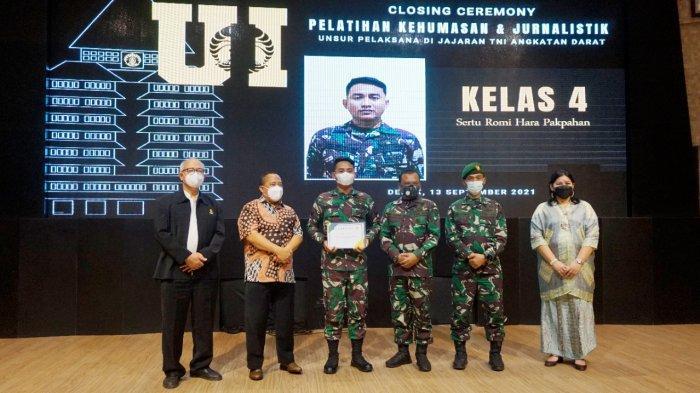 Anngota Kodim 0410 Ikuti Pelatihan Kehumasan dan Jurnalistik TNI AD Tahun 2021