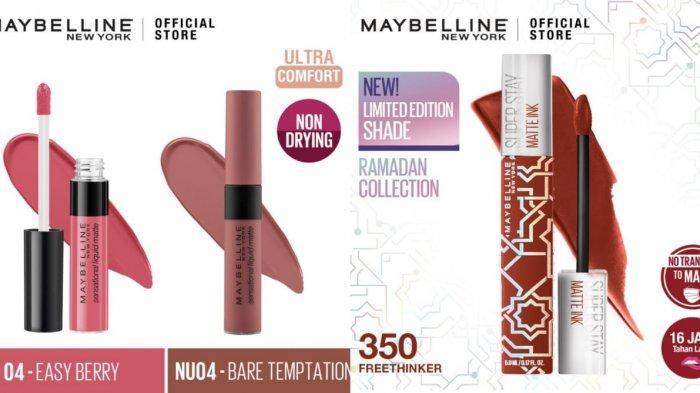 Promo Tokopedia, Promo Produk Lips Maybelline Diskon hingga 50%