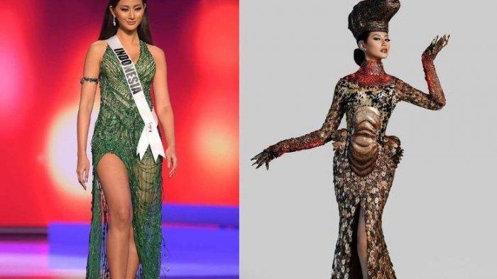 Ayu Maulida Menahan Tangisnya di Panggung Miss Universe