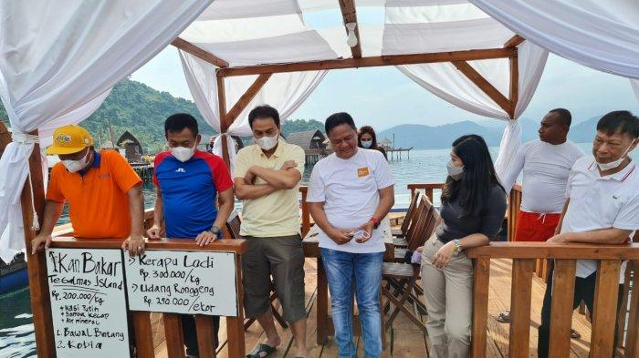Wakil Ketua DPR Azis Syamsuddin, Meutya Hafid, serta Pangdam dan Danrem Nikmati Keindahan Tegal Mas