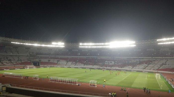 Babak Pertama Timnas Indonesia vs Thailand, Skor Masih Kacamata