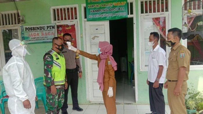 Babinsa Hadiri Peresmian KTN di Kampung Ojolali Way Kanan