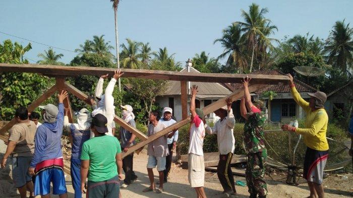 Babinsa Koramil Bahuga Wujudkan Komsos Kreatif bersama Kampung Binaan di Way Kanan Lampung