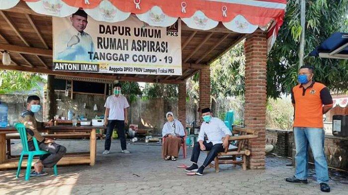 Bacalon Wakil Kada Lampung Selatan Antoni Imam Selesai Jalani Masa Isolasi Mandiri