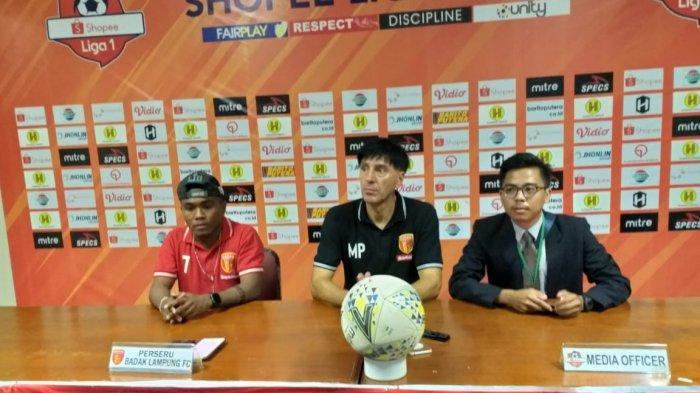 Badak Lampung Kalah 4-1 dari Barito Putera, Milan Petrovic: Kami Punya Beberapa Masalah