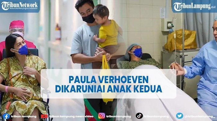 Selamat, Paula Verhoeven Melahirkan Anak Kedua