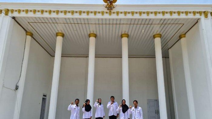 Ada Balai Desa Mirip Istana Negara di Lampung Utara