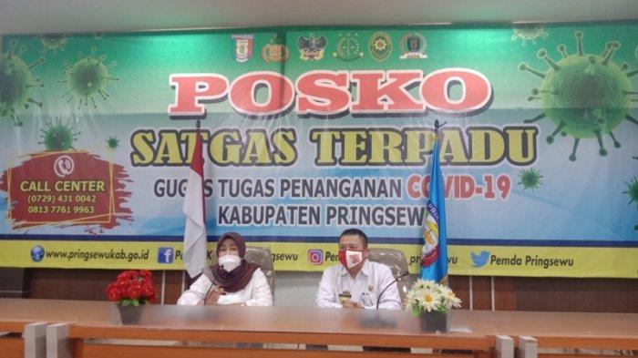 Balita di Pringsewu Tertular Covid-19 dari Ayahnya yang Datang dari Palembang