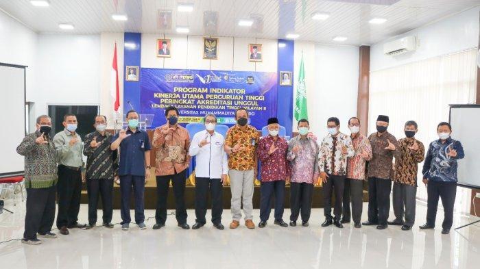 LLDIKTI Wilayah II Dampingi Universitas Muhammadiyah Metro Siapkan Peringkat Akreditasi Unggul