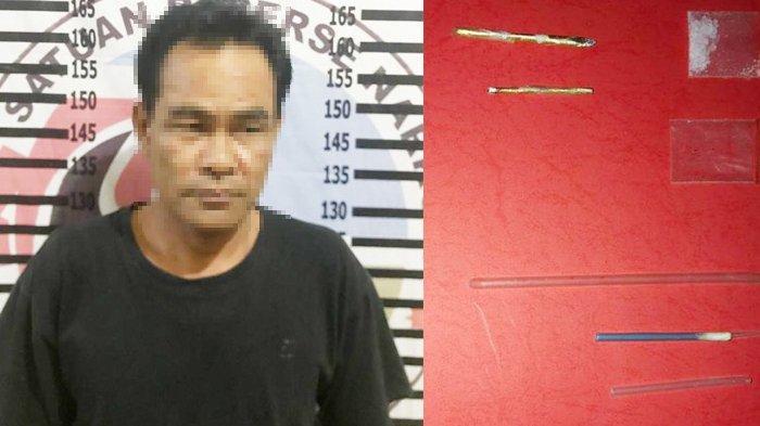 Bandar Narkotika di Tulangbawang Ditangkap Polisi di Rumahnya