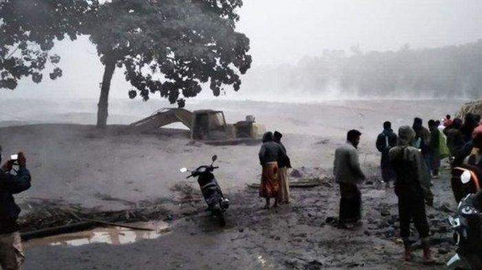 Ratusan Hektare Lahan Singkong di Penumangan Tubaba Terendam Banjir