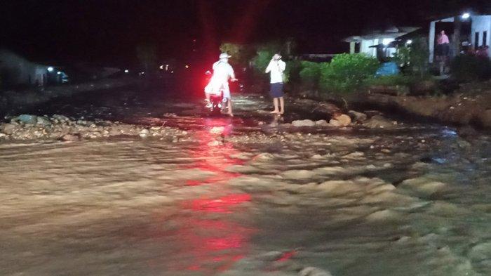 Banjir Landa 4 Pekon di Kecamatan Semaka Tanggamus