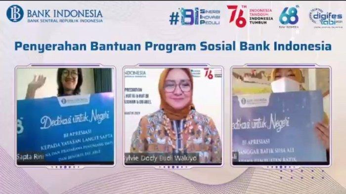 Bank Indonesia Beri Apresiasi melalui Bansos