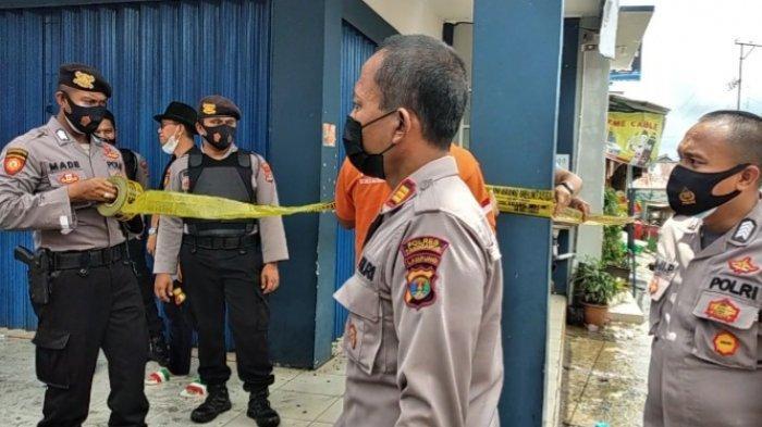 Kantor Kebakaran, Pelayanan Bank Lampung Kota Agung Tutup atau Dipindah?