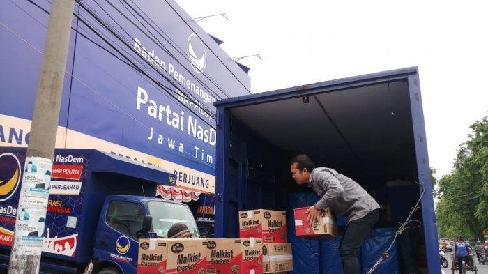 Bawa 38 Truk, NasDem Galang Solidaritas Warga Jatim untuk Korban Tsunami di Lampung dan Banten