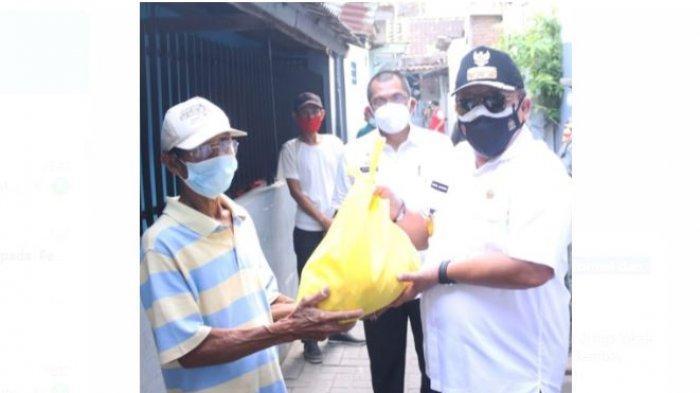 Gubernur Arinal Beri Bantuan Kepada Pekerja Sektor Informal dan Warga Terdampak Pandemi Covid-19