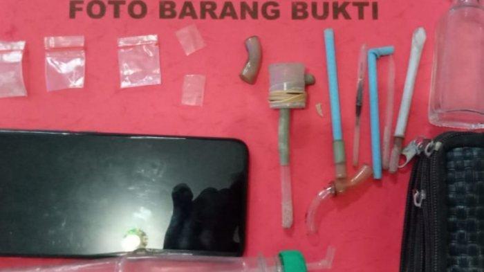 PolresTanggamus Tangkap Pengguna Narkoba di Talang Padang
