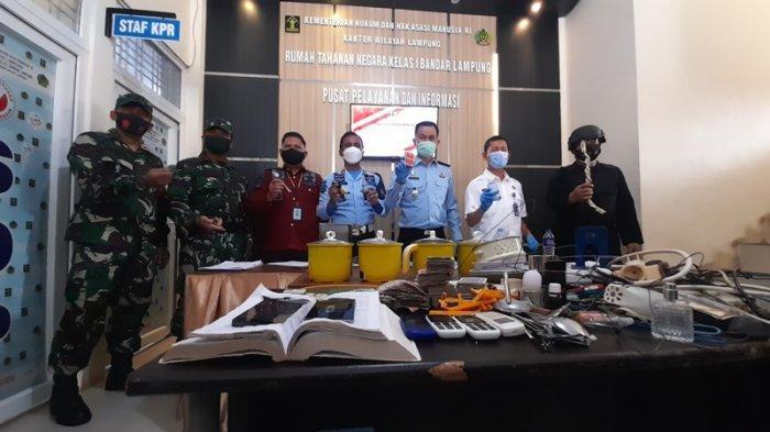 Barang Pecah Belah Turut Diamankan, KPR Rutan Kelas I Bandar Lampung: Ditakutkan Menjadi Senjata