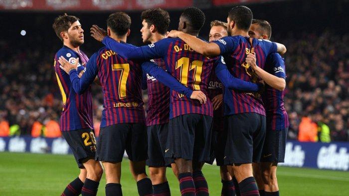 Link Live Streaming Piala Super Spanyol - Barcelona vs Atletico Madrid Malam Ini
