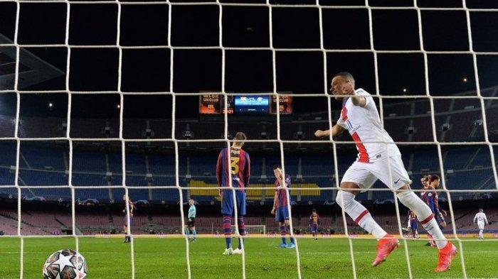 Hasil Akhir Barcelona vs PSG 1-4, Hasil Liga Champions