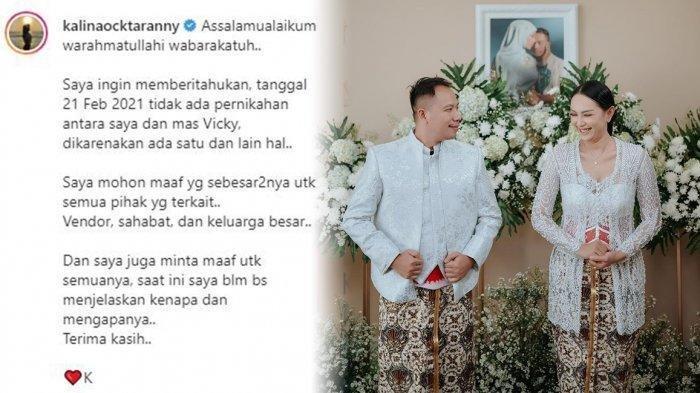 Baru Gelar Pengajian, Kalina Ocktaranny Tiba-tiba Umumkan Batal Nikah dengan Vicky Prasetyo