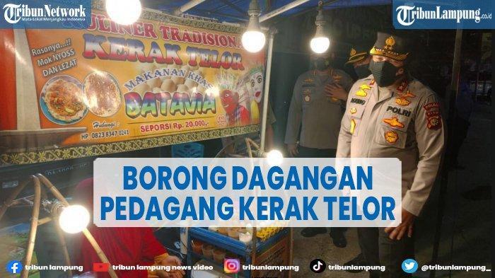 Kapolda Borong Dagangan Pedagang Kerak Telor hingga Ludes