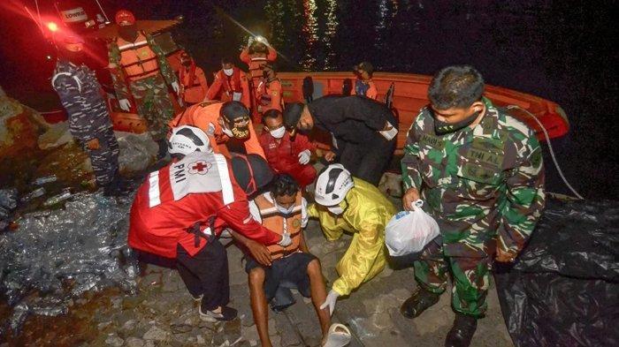 Kronologi Tim SAR Gabungan Temukan 3 dari 10 Penumpang Kapal Tenggelam, yang Hilang