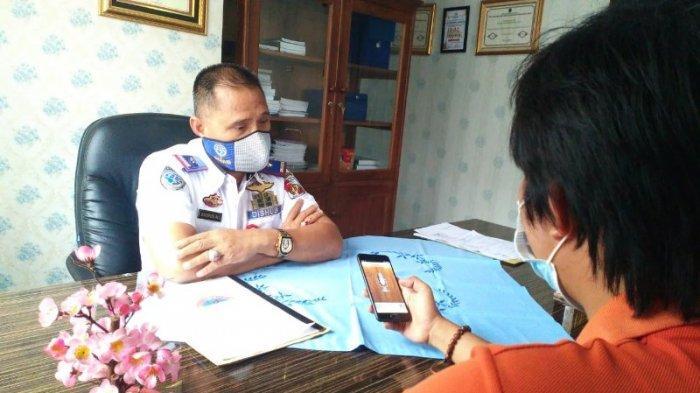 PAD Dishub Lampung Utara Over Target Tahun 2020