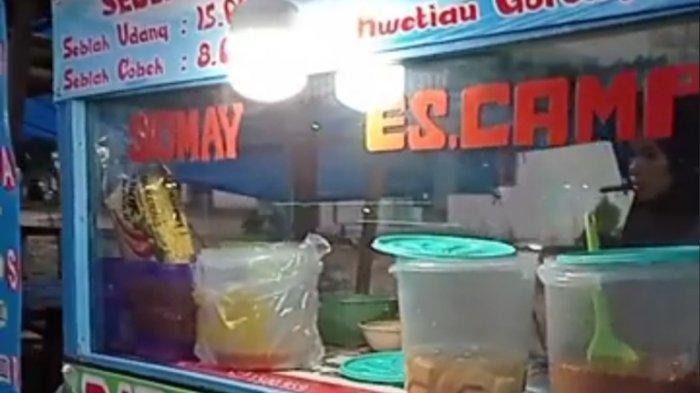 Hasan Penjual Batagor di Tugu Macan Mesuji, Harga Rp 8 Ribu Perporsi