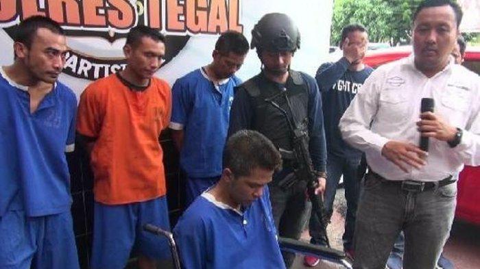 Bawa Kabur Mobil Anggota TNI di Tegal, 4 Maling Sempat Todongkan Pistol ke Polisi Saat Ditangkap