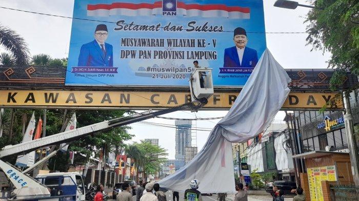 Bawaslu Bandar Lampung Tertibkan 2.000 APK
