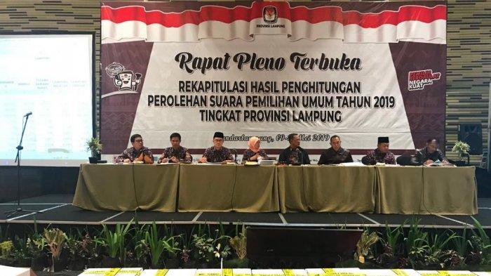 Bawaslu Lampung Awasi Kemungkinan Pergeseran Suara di Pleno KPU Lampung