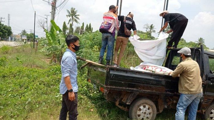 Bawaslu Lampung Tengah Mulai Lakukan Penertiban APK Paslon