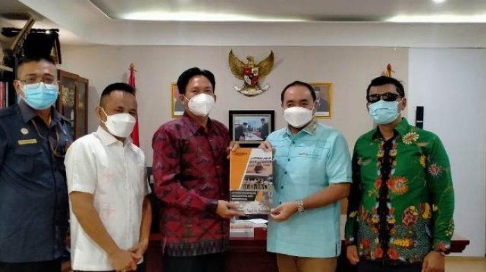 Bawaslu Serahkan Laporan Akhir Hasil Pengawasan Pilkada Bandar Lampung 2020 ke Bawaslu RI