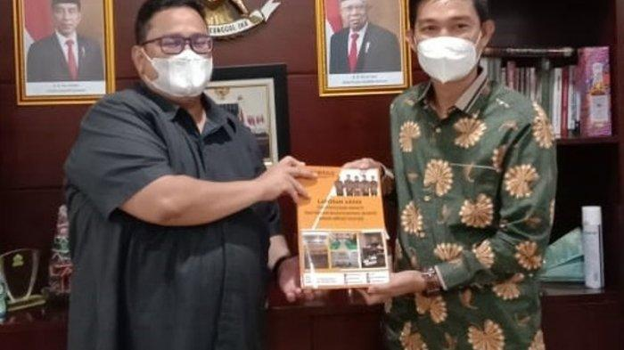 Bawaslu Serahkan Laporan Selama Tahapan Pilkada Bandar Lampung 2020 ke Bawaslu RI