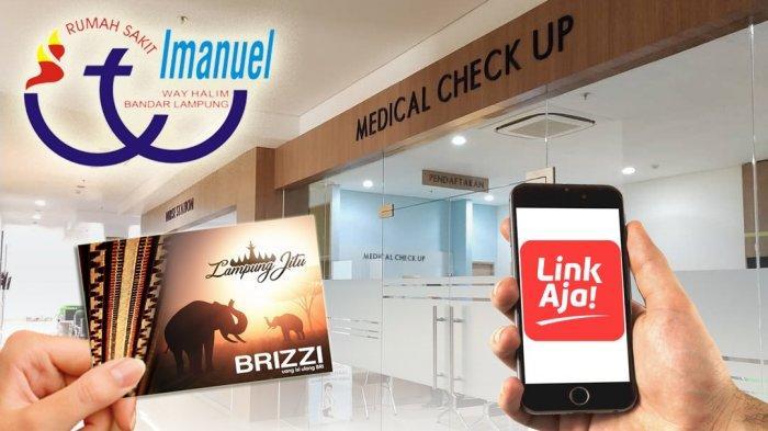 Praktis! RS Imanuel Way Halim Kini Tawarkan Pembayaran Non Tunai Melalui LinkAja dan Brizzi BRI