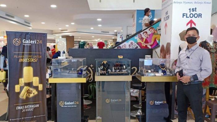 Diskon sampai Rp 1 Juta Jika Beli Emas di Bazar Galeri24 Mal Boemi Kedaton Lampung