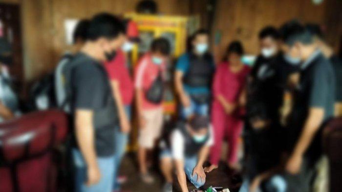 Penggerebekan Terduga Bandar Narkoba di Mesuji, Polisi Amankan Barang Bukti Narkoba Jenis Sabu