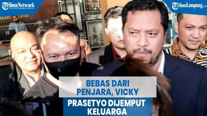 VIDEO Bebas dari Penjara, Vicky Prasetyo Dijemput Keluarga